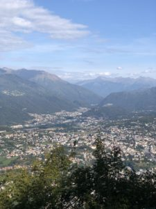 Monte San Salvatore view